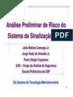 1 - 14h10 - 14h40 _ Análise Preliminar de Riscos