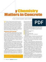 Why Chemistry Matters in Concrete