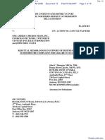 Johnston v. One America Productions, Inc. et al - Document No. 12