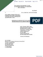 Johnston v. One America Productions, Inc. et al - Document No. 13