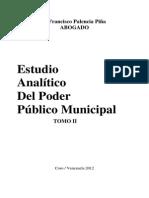 Libro Estudio Analítico Del Poder Público Municipal Tomo2