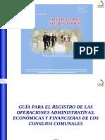 Guia Para El Registro de Operaciones Consejos Comunales