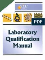 Lab Qualification Manual