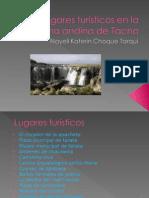 Lugares Turísticos en La Zona Andina de Tacna