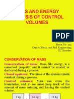 CHAPTER-5 Mass and Energy Analysis of Control Volumes
