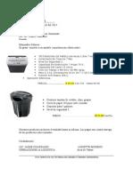 trituradora, cajas metalicas, sillas. INRESA.doc