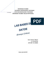 las bases de datos