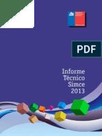InformeTecnicoSimce_2013