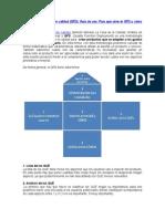 Despliegue de La Función Calidad QFD