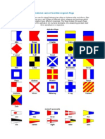 International Code of Maritime Signals Flags