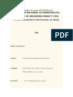 Trabajo Monografico de Mina TOQUEPALA