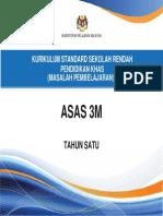 Dokumen Standard Asas 3M Tahun 1.pdf