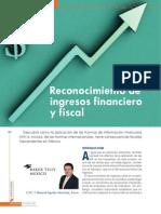 RECONOCIMIENTO DE INGRESOS FINANCIERO Y FISCAL