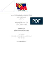 76885445 Final Report Industrial Training for Accounting Student