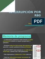 Interrupción Por RB0