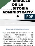 Fase de Desarrollo de La Auditoria Administrativa