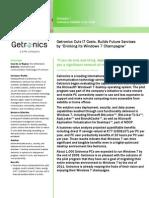 Customer Solution Case Study Getronics