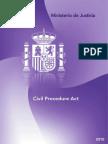 Civil Procedure Act (Ley de Enjuiciamiento Civil)
