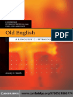 Old English a Linguistic Introduction