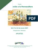 Curso de Introduccion a La Permacultura