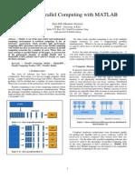 Parallel Programming Matlab