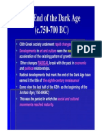 The End of the Dark Age [Compatibility Mode]