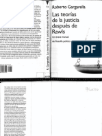 Gargarella R Las Teorias de La Justicia Despues Rawls