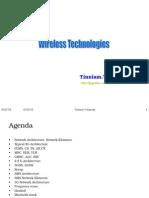 Wireless Technologies - 01