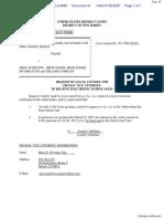 SOKOLWSKI v. MENU FOODS, INC. et al - Document No. 27