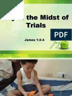 Joy in the Midst of Trials