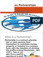 Review on Law on Partnerships (CPA Review)