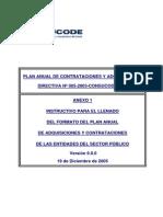 Instructivo para el llenado del Plan Anual de Adquisiciones y contrataciones.pdf