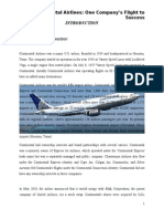 Case Study on continental airlines