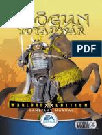 Shogun - Total War - Warlord Edition - Manual - PC