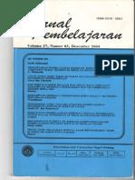 jurnal pembelajaran