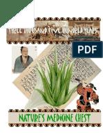 Nature's Medicine Chest - Aloe Vera