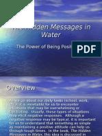 The Hidden Messages in Water - Website