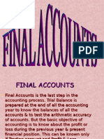 Final Accounts Trading and Pl
