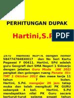 DUPAK Hartini