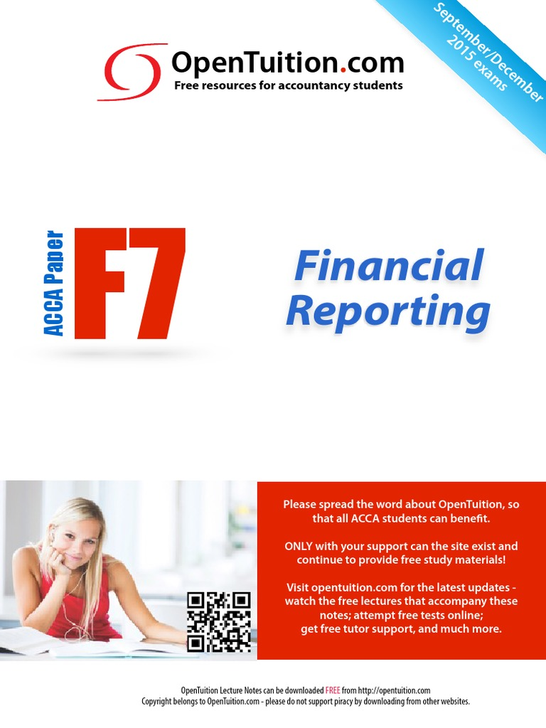 ACCA F7 December 2015 Notes   International Financial Reporting Standards    Goodwill (Accounting)