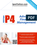 ACCA P4 December 2015 Notes