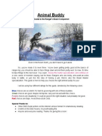 Animal Buddy_ a Guide to the Ranger's Beast Companion - Google Docs