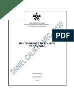 EVIDENCIA 020-DESENSAMBLE Y ENSAMBLE DEL COMPUTADOR