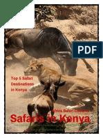 Safari in Kenya - 5 Destinations in Kenya for Safaris