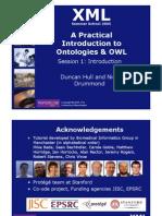 20050729 XML Summerschool Ontologies Session1