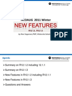 Major Oracle R12 1.3 Features