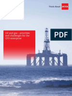 Oil and gas – priorities and challenges for the CFO enterprise