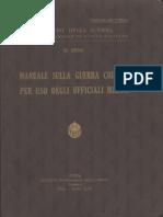 Manuale sulla guerra chimica per uso degli Ufficiali Medici (3959) 1941