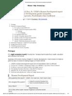 Mrunal Economic Survey Ch13_ Human Development Report 2014