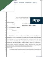 (PC) Gomez v. California Board of Prison Terms et al - Document No. 5